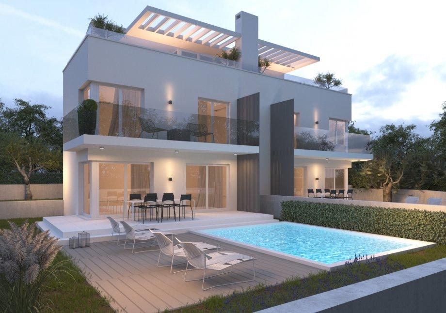 Kuća: Premantura, dvokatnica, 250 m2 , LUKSUZNA VILLA (prodaja)