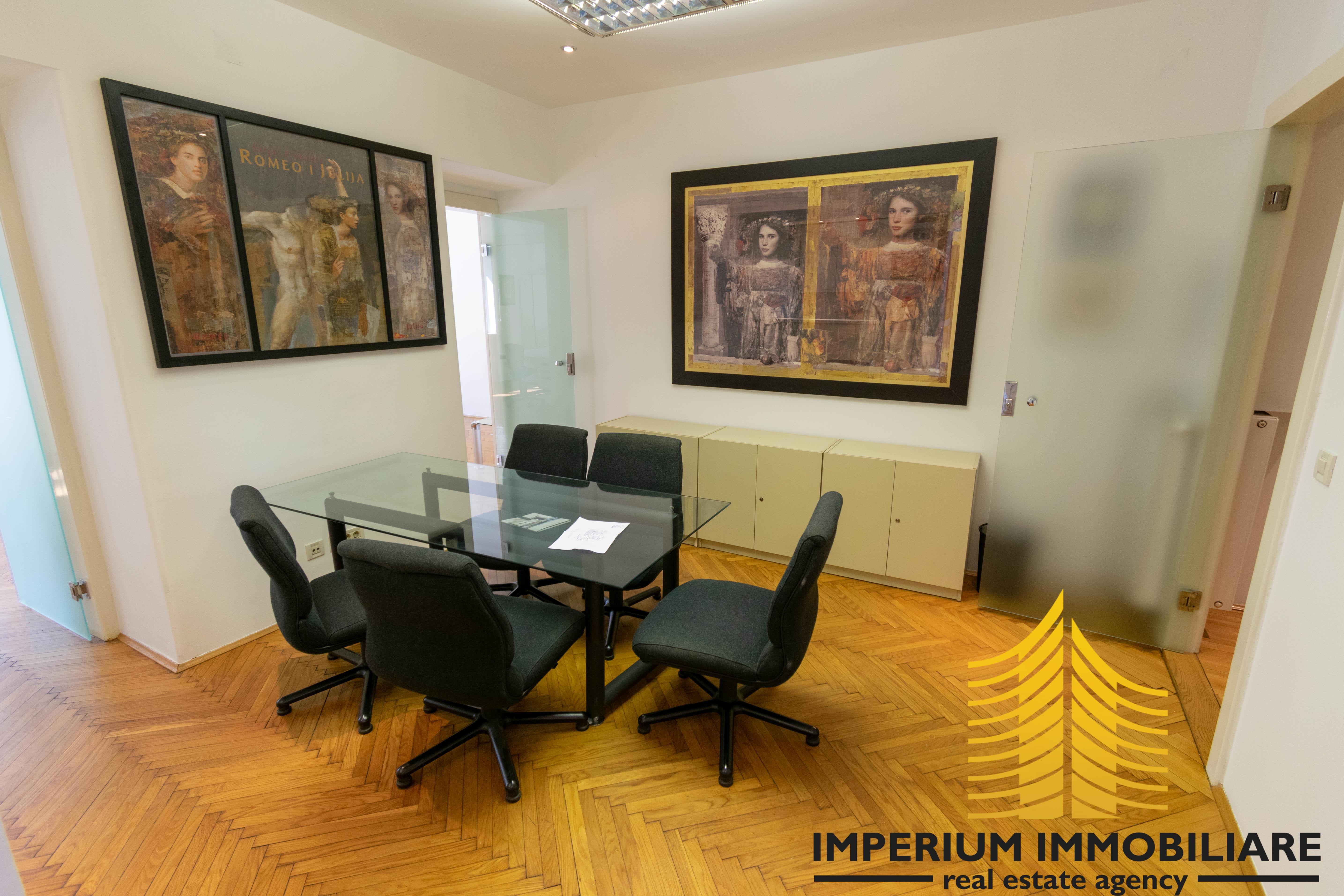 Poslovni prostor: Zagreb (Donji grad), uredski, 90 m2, ŠUBIĆEVA (iznajmljivanje)