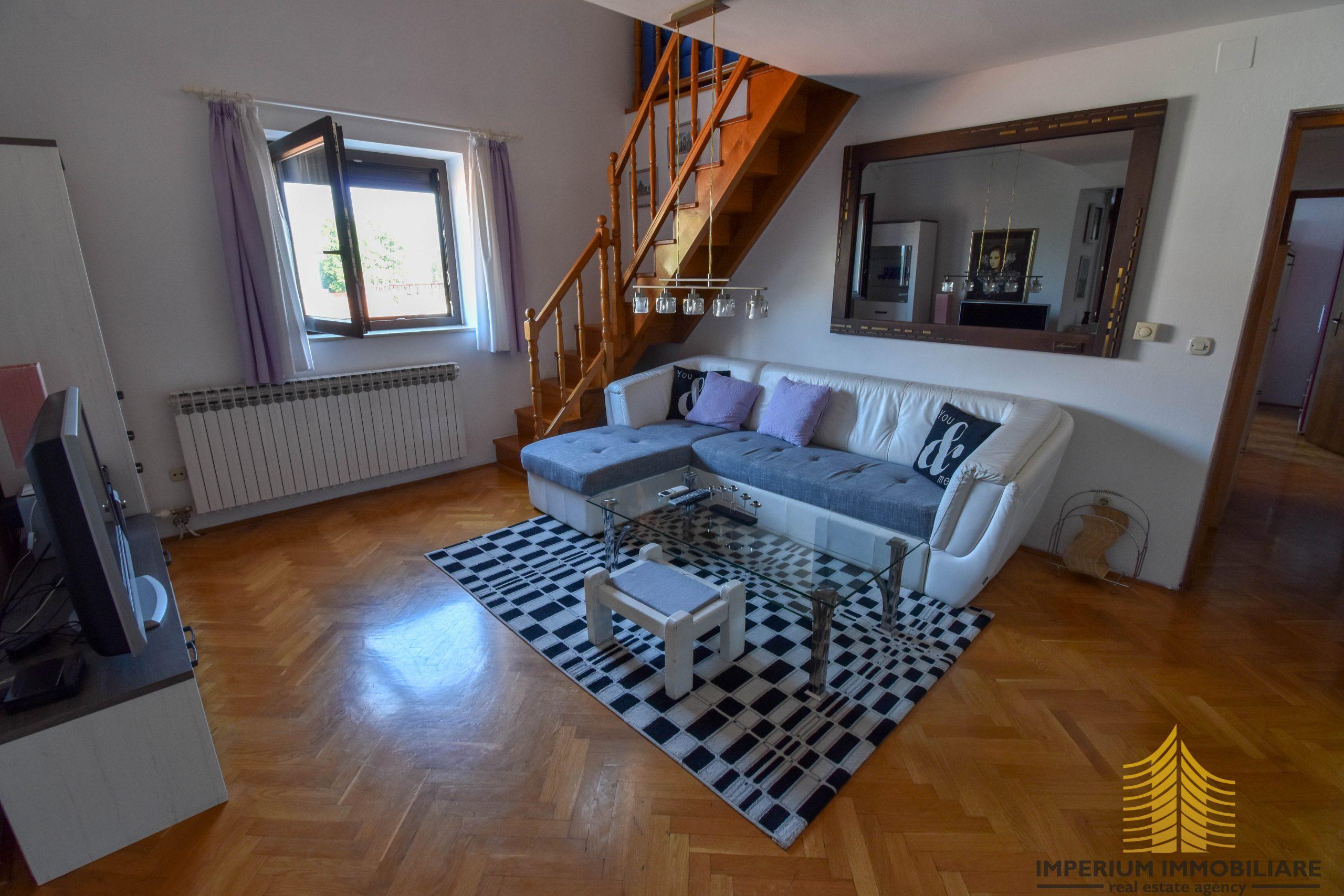 Stan: Zagreb (Donje Svetice), 112.00 m2, 4SS, DVOETAŽNI (iznajmljivanje)