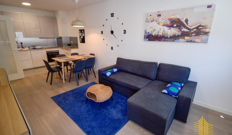 Stan: Zagreb (Središće), MEANDAR, 64 m2 + GARAŽA 17 m2 , NOVOGRADNJA! (iznajmljivanje)