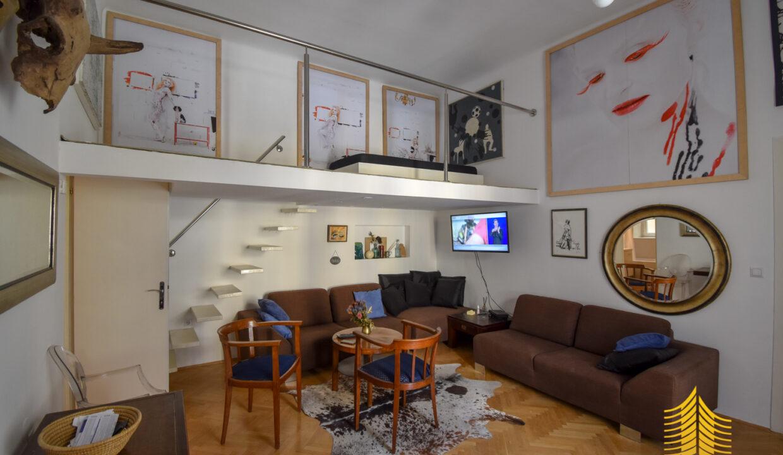 Stan: Zagreb (Donji grad), 60.00 m2, FRANKOPANSKA, UKLJ.REŽIJE (iznajmljivanje)