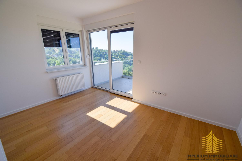 Stan: Zagreb (Borčec), LUX. NOVOGRADNJA, 66.00 m2 + vrt 184 m2, 3soban (prodaja)
