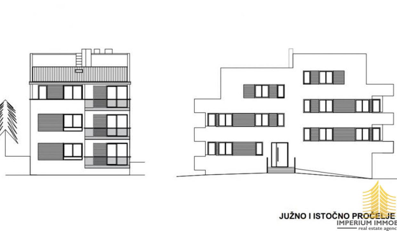 Stan: Zagreb Stan: Zagreb (Borčec), LUX. NOVOGRADNJA, 66.00 m2 + vrt 184 m2, 3soban (prodaja)(Borčec), LUX. NOVOGRADNJA, 66.00 m2 + vrt 184 m2, 3soban (prodaja)