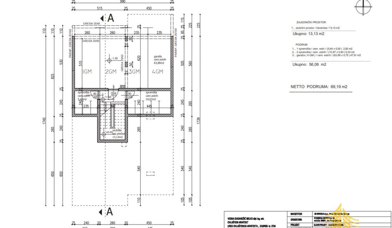 Stan: ZagStan: Zagreb (Borčec), LUX. NOVOGRADNJA, 66.00 m2 + vrt 184 m2, 3soban (prodaja)reb (Borčec), LUX. NOVOGRADNJA, 66.00 m2 + vrt 184 m2, 3soban (prodaja)