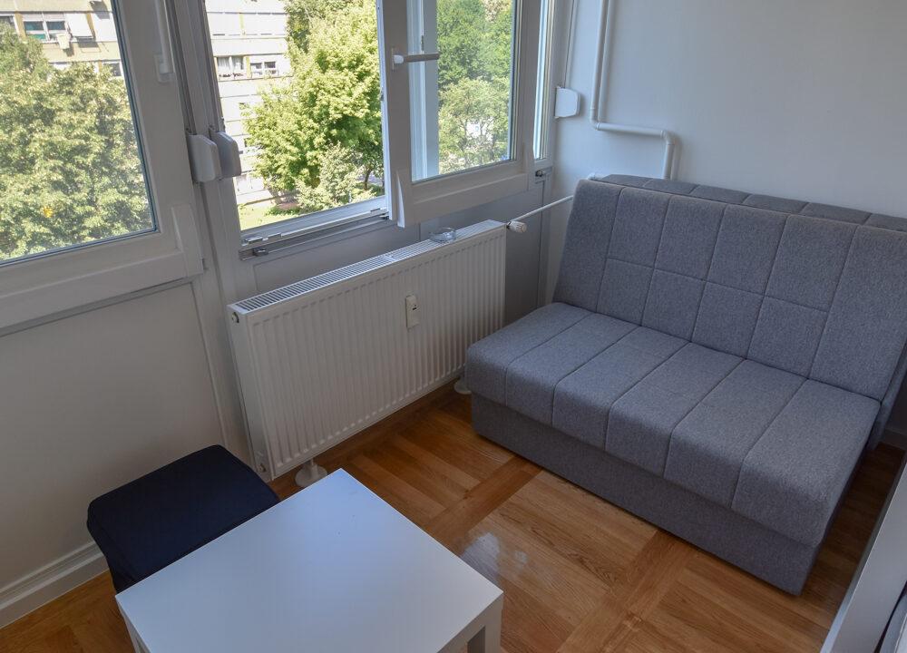 Stan: Zagreb (Utrina), 22.00 m2, GARSONIJERA, NOVOUREĐENO (iznajmljivanje)