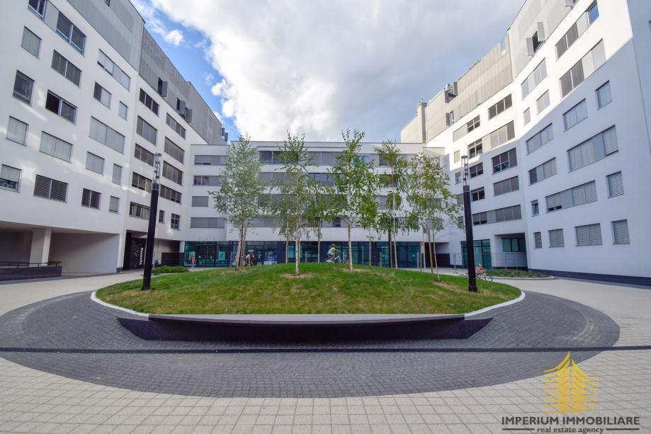 Stan: Zagreb (Trnje), 54.00 m2 + 14 m2 gpm, SARAS CENTAR NOVOGRADNJA (iznajmljivanje)